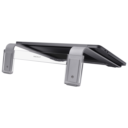 Macally Adjustable Aluminum Laptop Stand for Laptops Between 10  to 17 NBSTAND