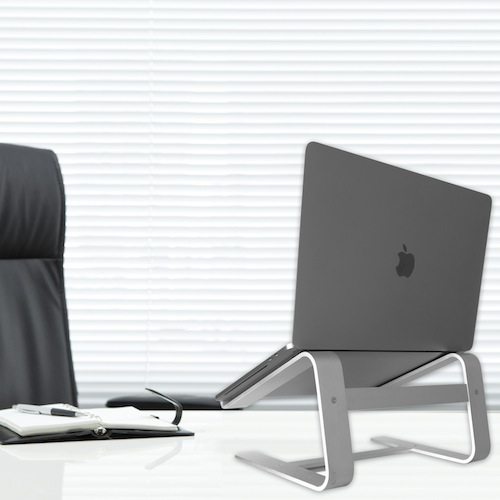 Macally astand Aluminium Laptop St/änder f/ür Apple MacBook /Silber MacBook Pro/ MacBook Air